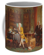In The Library Coffee Mug