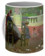 In The Luxembourg Gardens  Coffee Mug by Henri Edmond Cross