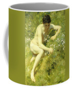 In The Meadow Coffee Mug by Henry Scott Tuke