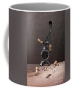 In The Meat Grinder 01 Coffee Mug