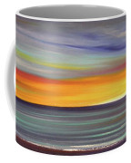 In The Moment Panoramic Sunset Coffee Mug