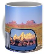In The Rear View Mirror Coffee Mug