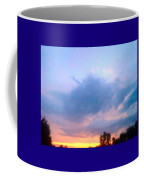In The Sky Above And Below Coffee Mug