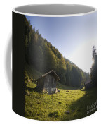 in the Swiss alps Coffee Mug
