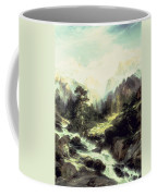 In The Teton Range Coffee Mug