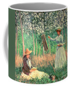 In The Woods At Giverny Coffee Mug