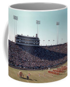 In This Vintage 1955 Photo The University Of Texas Longhorn Band Coffee Mug