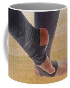 In Warm Up Tights Relaxed Position Coffee Mug