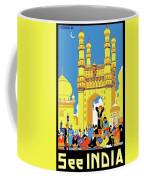 India, Castle, People, Street Coffee Mug