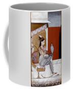 India: Lady & Hawk, C1570 Coffee Mug