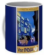India Travel Poster Coffee Mug