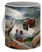 Indian Camp - Roberval P Q Coffee Mug