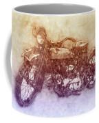 Indian Chief 2 - 1922 - Vintage Motorcycle Poster - Automotive Art Coffee Mug