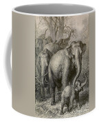Indian Elephant, Endangered Species Coffee Mug