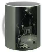 Indian Fire God -the Going Of The Medicine Horse Coffee Mug