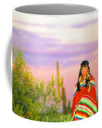 Indian Full Moon Southwest Sunset Coffee Mug