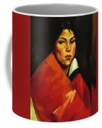 Indian Girl 1916 Coffee Mug