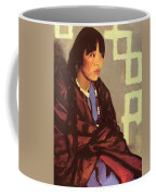 Indian Girl Of San Ildefonso 1917 Coffee Mug