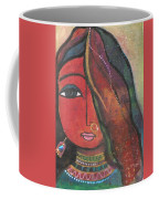 Indian Girl With Nose Ring Coffee Mug