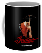 Indian Motorcycle Company Pinline Coffee Mug