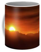 Indian Peaks Sunset Coffee Mug