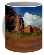 Indian Ponies In The Canyon Coffee Mug