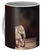 Indian Silver Elephant Coffee Mug