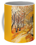 Indian Summer Wish Coffee Mug by Milagros Palmieri