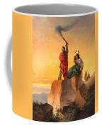 Indian Telegraph Coffee Mug by John Mix Stanley