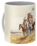 Indian War Party Coffee Mug