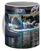 Indian Wells Waterfall Coffee Mug