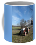 Indiana Hwy 63 South Vintage Ford Tractor Color Version Coffee Mug