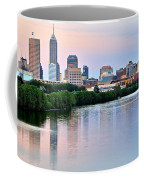 Indianapolis At Dusk Coffee Mug