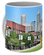 Indianapolis From The Park Coffee Mug