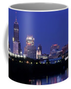 Indianapolis Panorama Coffee Mug