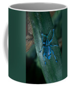 Indigo Blue Weevil Coffee Mug