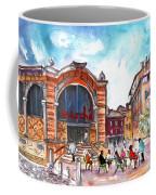 Indoor Market In Albi Coffee Mug