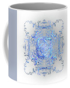 Indulgent Blue Lace Coffee Mug