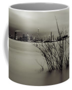 Industry On The Mississippi River, In Monochrome Coffee Mug