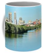 Indy White River View Coffee Mug