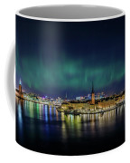 Infinite Aurora Over Stockholm Coffee Mug