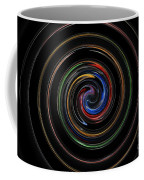 Infinite, Ever Expanding Image. Colorful And Classic Spiral Digital Art That Can Enhance Your Mood. Coffee Mug