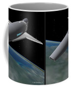 Infinity And Beyond - Gently Cross Your Eyes And Focus On The Middle Image Coffee Mug