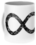 Infinity Symbol-black Coffee Mug