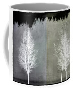 Infrared Trees With Texture Coffee Mug by Patricia Strand