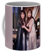 Ingrid Pitt And Madeline Smith Coffee Mug