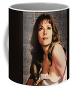 Ingrid Pitt, Vintage Actress Coffee Mug