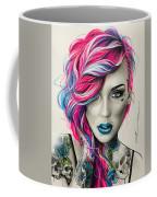Inked Neon Coffee Mug