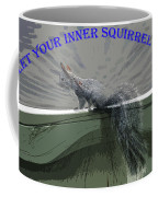 Inner Squirrel Art #1 Coffee Mug
