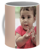 Innocence In Eyes Coffee Mug